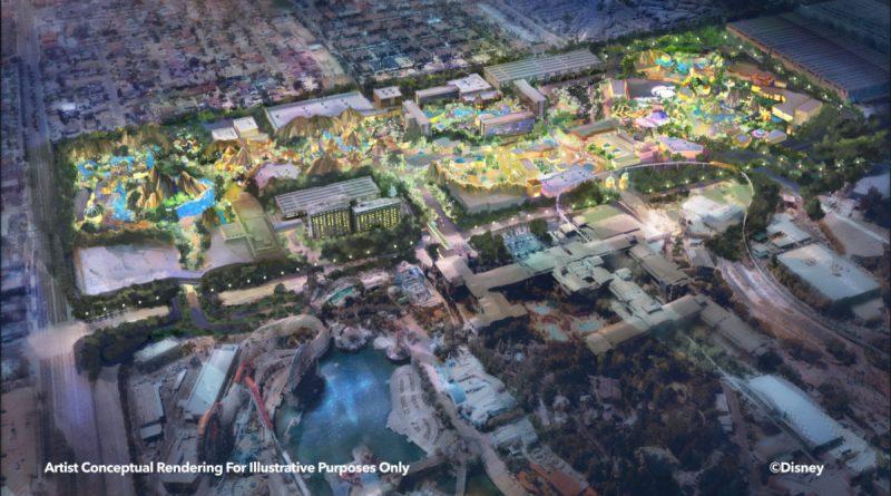 expansão Disney California