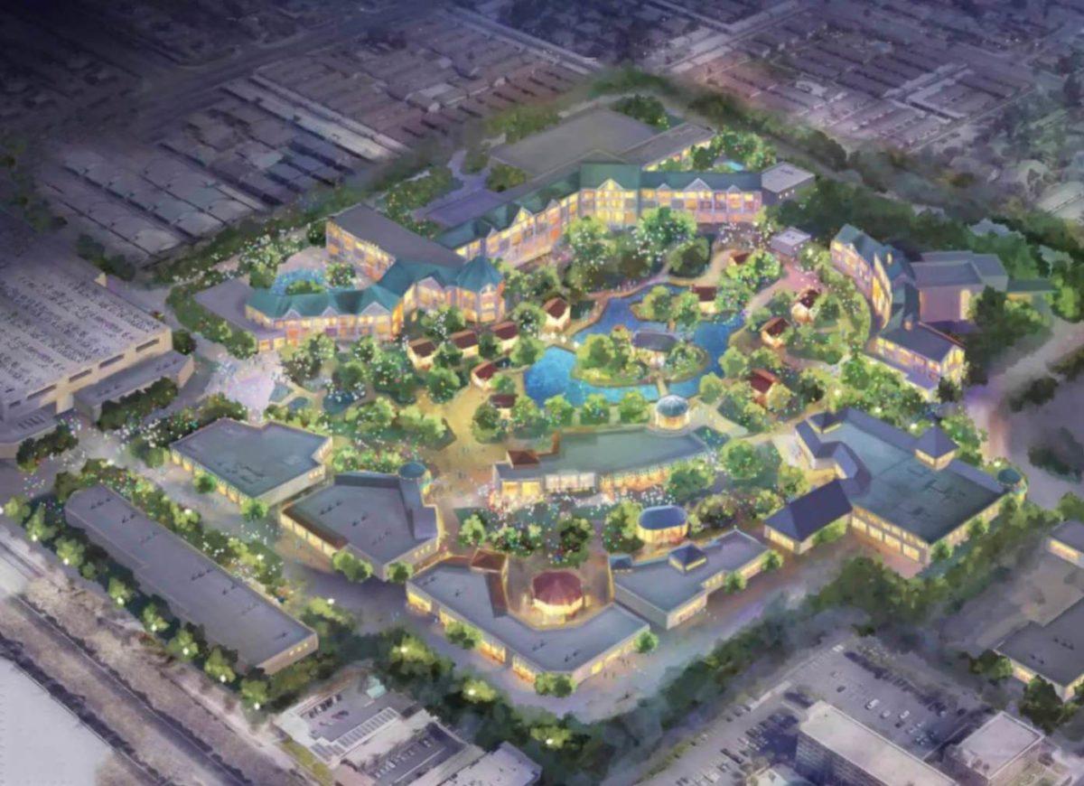 expansão Disney Califórnia