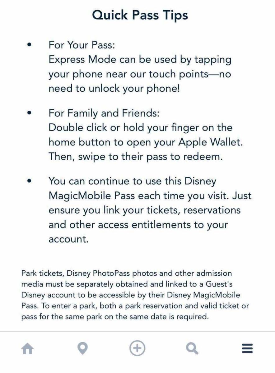 MagicMobile no My Disney Experience