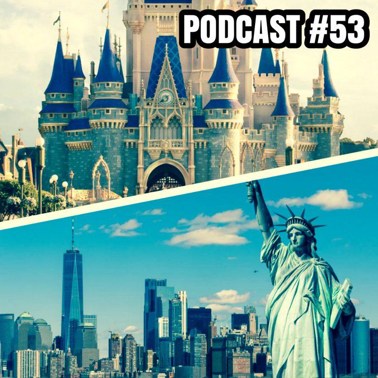 Rumo a Orlando #53: Orlando e Nova York. Tão diferentes e tão iguais.