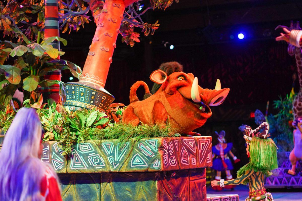 show rei leão animal kingdom 12