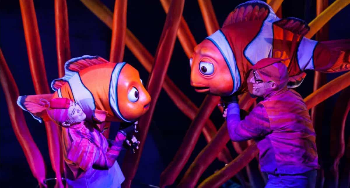 Show do Nemo no Animal Kingdom 1