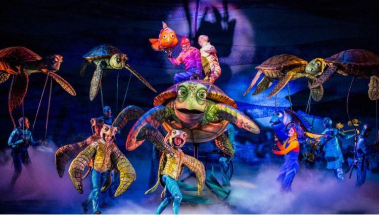 Show do Nemo no Animal Kingdom 3