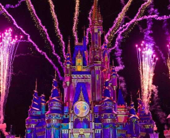 show noturno Magic Kingdom