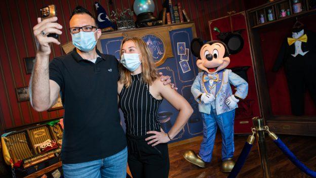 encontro com personagens Disney 1